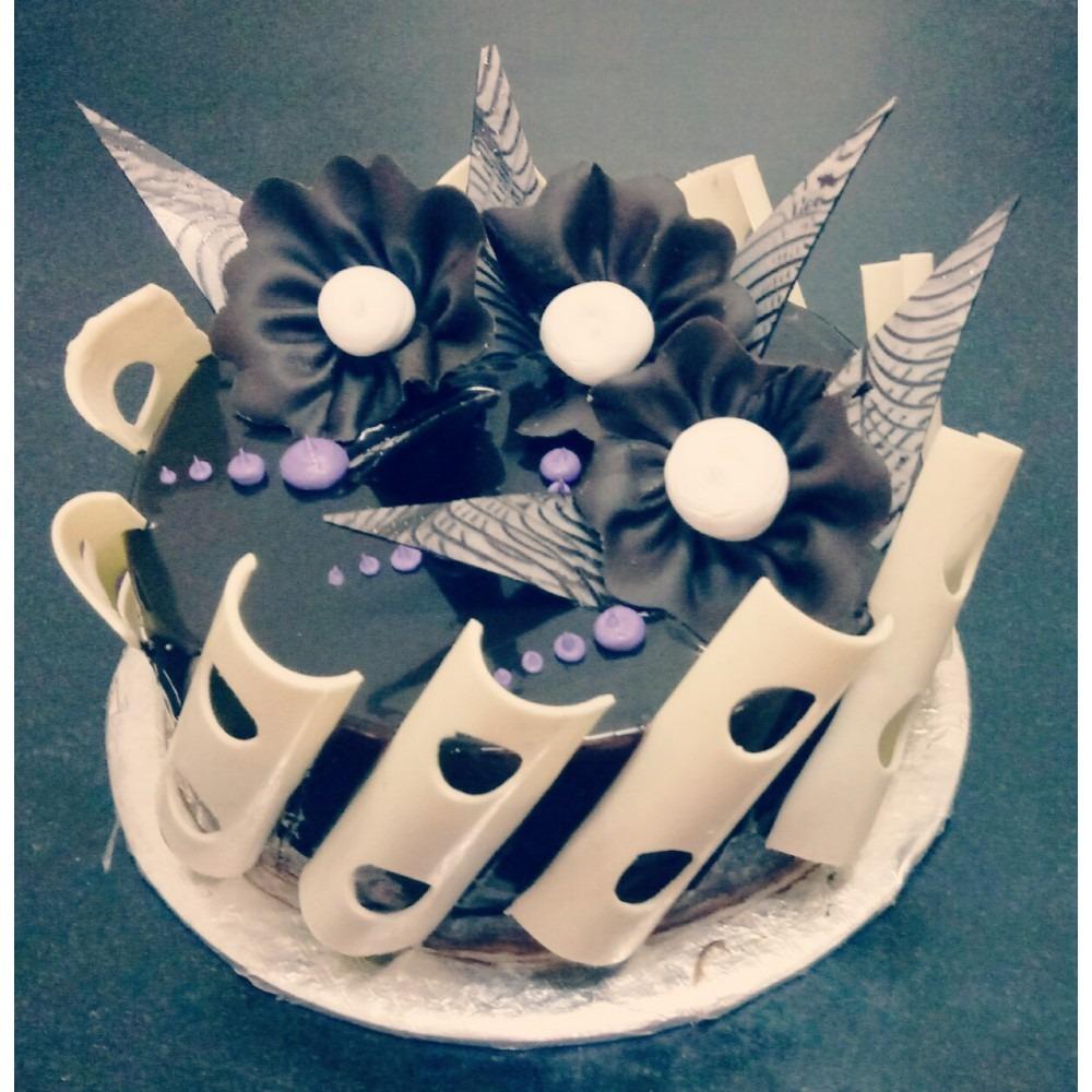 Wonderful Choco Strips cake