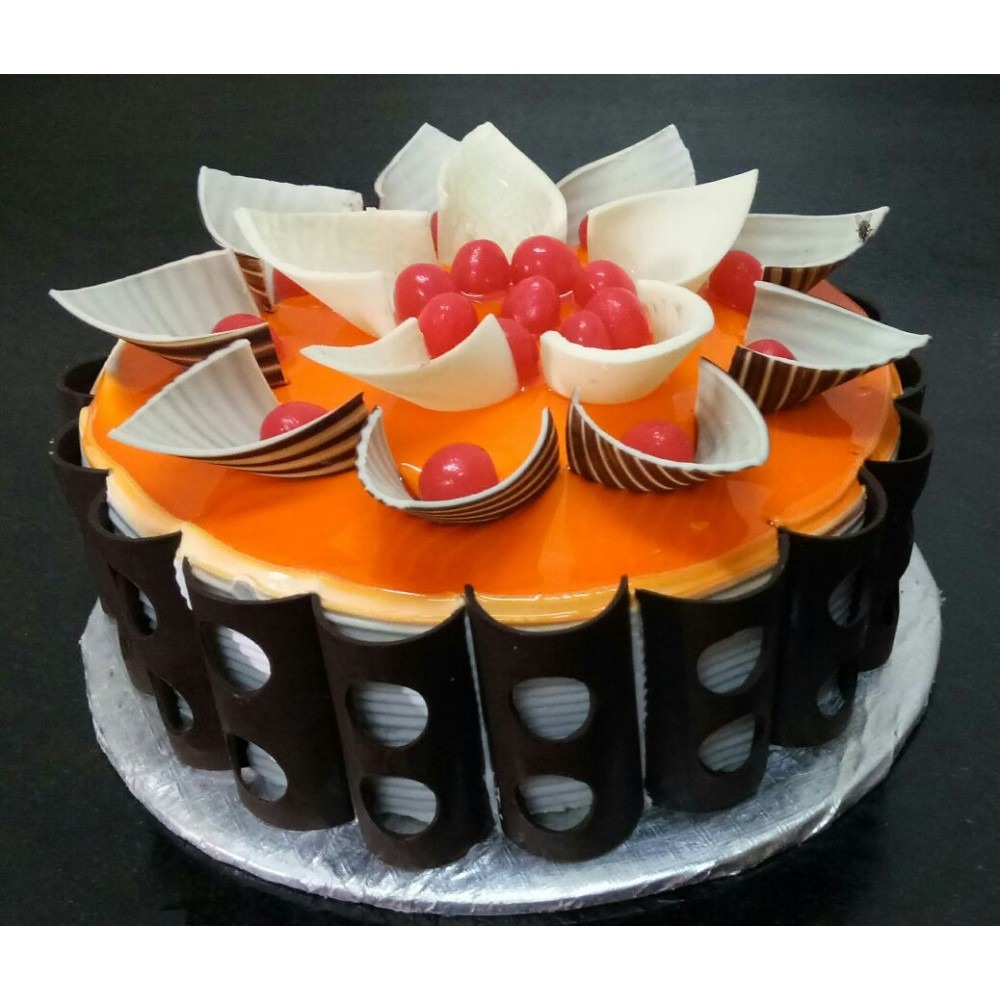 Orange Fruit cake