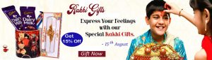 Rakhi Gifts to Hyderabad