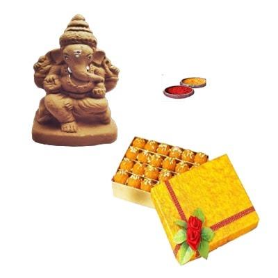 Ganapathi Clay Idol