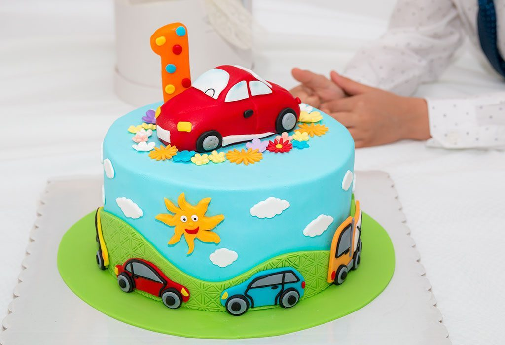 Birthday cake for Baby Boy