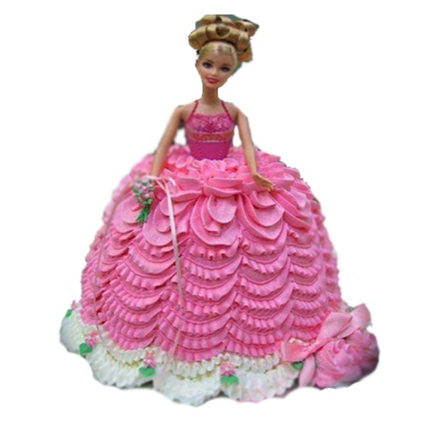 Charming little barbie