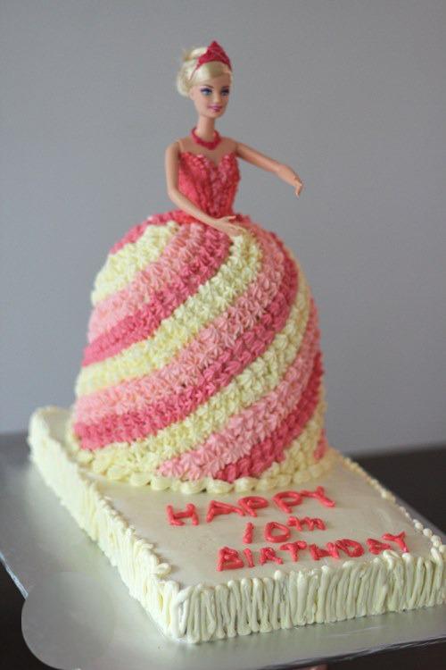 Graceful barbie cake online