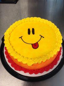 Cute smily Cake