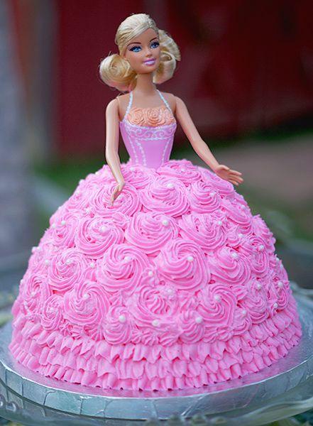Francei Barbie cake