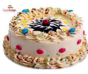 Gems cream cake
