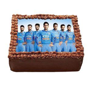 Team India chocolate Photo cake