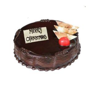 Christmas chocolate cakes
