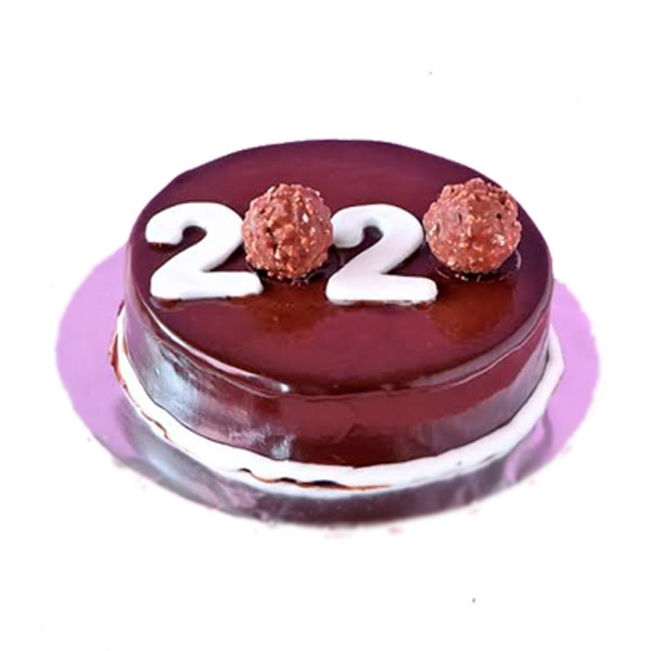 New year cakes in Hyderabad