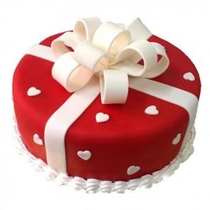 Fondant Gift pack cake